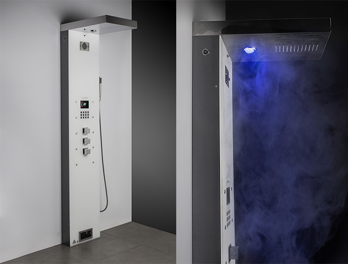 Painel de Banho Steam Shower